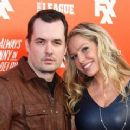 Kate Luyben and Jim Jefferies