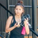 Brenda Song seen stopping by a gym for a workout in Studio City, California on July 26, 2014 - 428 x 594
