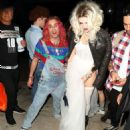 Bella Thorne – Arrives to Halloween party in Los Angeles - 454 x 537