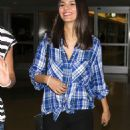 Victoria Justice Lax Airport In Los Angeles