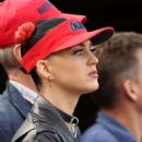 Katy Perry Watching Alabama V Mississippi At Oxford