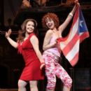 "Justina Machado  & Janet Dacal in the Broadway musical ""In The Heights"""