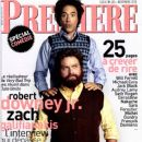 Robert Downey Jr., Zach Galifianakis - Premiere Magazine Cover [France] (November 2010)