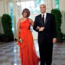 Gayle King and Cory Booker - 415 x 465