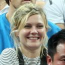 Kirsten Dunst at the quarterfinals of the Olympic Basketball tournament in London, England (August 8)