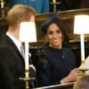 Meghan Markle and Prince Harry – Wedding of Princess Eugenie of York to Jack Brooksbank in Windsor