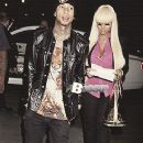 Blac Chyna and Tyga at The Clippers Game in Los Angeles - November 16, 2012 - 245 x 400