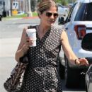 Selma Blair in Patterned Dress out in Los Angeles - 454 x 681