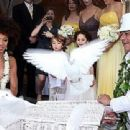 Carlos Santana with wife Cindy