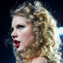 Taylor Swift performs at Forest National Arena during her 'Speak Now' world tour. March 7, 2011