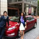 Ian Somerhlader and Nina Dobrev out and about in Paris, France