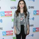 Lily Collins – Telethon For America at YouTube Space LA in Los Angeles