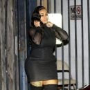 Blac Chyna at a Studio in Los Angeles, California - November 29, 2016
