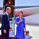 Prince Windsor and Kate Middleton  arrived at Berlin Tegel Airport - 391 x 600