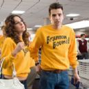 Marnie (Lindsay Sloane, left) decides she's again attracted to her ex-boyfriend Kirk (Jay Baruchel, right) in the DreamWorks Pictures comedy 'She's Out of My League,' a Paramount Pictures release. Photo Credit: Darren Michaels. Copyright © - 454 x 305