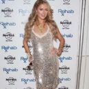Paris Hilton Djs At Rehab Pool Grand Opening Weekend In Las Vegas