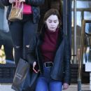 Emilia Clarke – Shopping at Barneys New York Department Store in New York City 03/02/2019