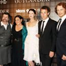 Sam Heughan,Caitriona Balfe, Tobias Menzies, the Writer Diana Gabaldon and the producer Ronald D.Moore  - 'OUTLANDER' SCREENING IN NYC - 454 x 334