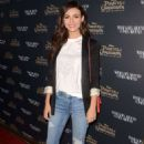 Victoria Justice–Disney's 'Pirates of the Caribbean:What Comes Around Goes Around' event in Beverly Hills - 454 x 685