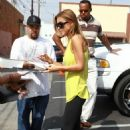Audrina Patridge Out In Los Angeles - October 14, 2010