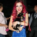 Bella Thorne – Leaving the Viceroy L'Ermitage Hotel in Beverly Hills