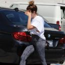 Ashley Tisdale is spotted at a gym for a workout in West Hollywood, California on March 24, 2017 - 410 x 600
