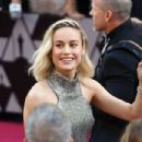 Brie Larson attend the 91st Annual Academy Awards - Arrivals