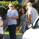 Salma Hayek On Vacation In St Barts