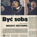 Innokentiy Smoktunovskiy - Film Magazine Pictorial [Poland] (26 January 1975) - 454 x 629