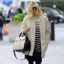 Fearne Cotton Street Style Out In London
