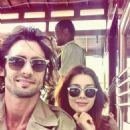 Tyson Ritter and Elena Satine