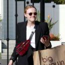Dakota Fanning – Arrives at a beauty salon in Beverly Hills