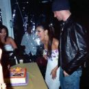 Eva Longoria and J. C. Chasez - Eva's 30th Birthday Party - 454 x 553