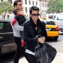 Kourtney Kardashian and Scott Disick take son Mason (b. December 14, 2009) to the doctor's office