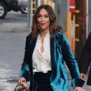 Jennifer Love Hewitt – Arrives at 'Jimmy Kimmel Live' in Hollywood - 454 x 630