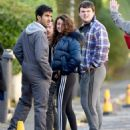 Michelle Keegan – Filming 'Brassic' TV Show in Lancashire - 454 x 544