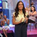 Rosario Dawson - MTV TRL, September 8 2008