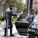 Mandy Moore with her fiancee out in Los Angeles - 454 x 408
