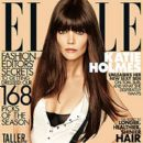 Katie Holmes: August 2012 issue of ELLE magazine
