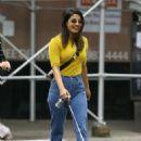 Priyanka Chopra with her dog – Out in New York City