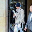 Cara Delevingne – Leaving the George V hotel in Paris