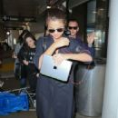 Selena Gomez Arrives At Los Angeles International Airport 2