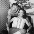 Mickey Rooney and Elaine Devry