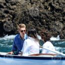 Vanessa Hudgens and Austin Butler mingled with model Luciana Gimenez Morad and her son Lucas Jagger in Portofino, Italy - 19 June 2016 - 433 x 600