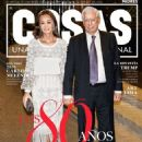 Isabel Preysler and Mario Vargas Llosa - Cosas Magazine Cover [Peru] (7 April 2016)