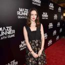 Kaya Scodelario – 'Maze Runner: The Death Cure' Fan Screening in LA