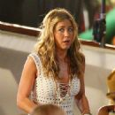 """Jennifer Aniston - Shoots Night Scenes For The Movie """"Just Go With It"""" In Hawaii - April 21, 2010"""