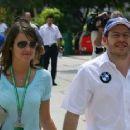 Jacques Villeneuve and Johanna Martinez - 454 x 226