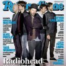 Thom Yorke, Jonny Greenwood, Ed O'Brien, Colin Greenwood, Phil Selway - Rolling Stone Magazine Cover [Brazil] (May 2012)