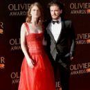 Rose Leslie and Kit Harington : The Olivier Awards 2017